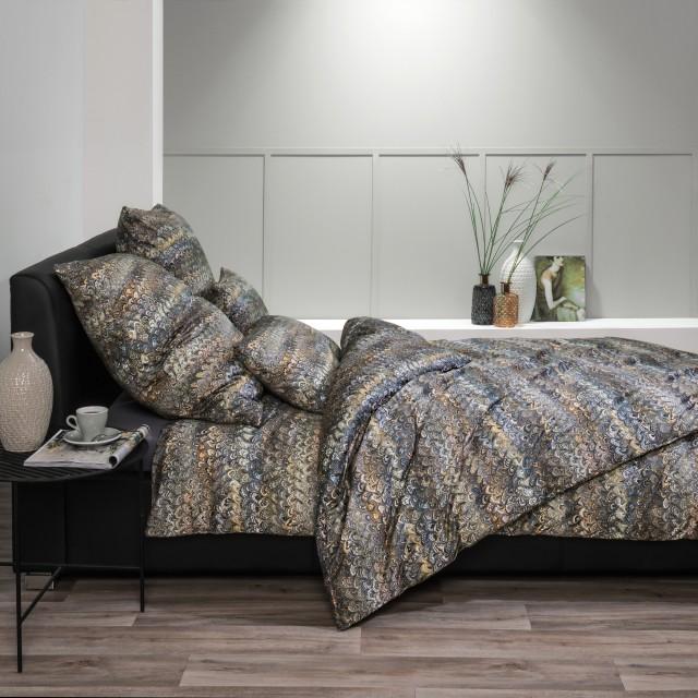 Chloe 2/1 Garnitur Premium-Satin Luxury Digitaldruck